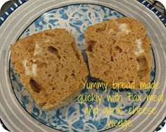 Quick Savory Flax Bread - microwaveable, in a mug, gluten-free, Trim Healthy Mama compliant