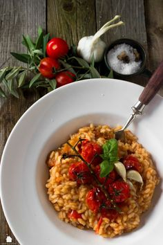 House No. 15 | Sommerliches Tomaten-Risotto | http://houseno15.de