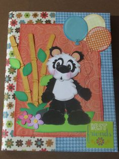 Card with cute Panda By: Sandra Moya from lshd