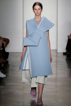 Parsons MFA Spring 2015 Ready-to-Wear - Collection - Gallery - Look 1 - Style.com