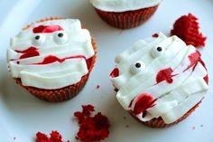 Fun Halloween Cupcak