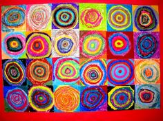 Kandinski Circles: Art Room Current Projects Drawing with Children