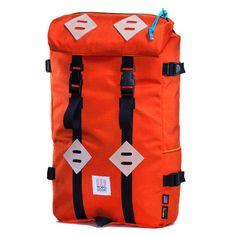 Topo Designs Orange Klettersack 22L