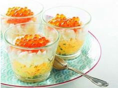 Salmon egg mimosa eggs- Œufs mimosa aux œufs de saumon Mimosa eggs with salmon eggs: discover the … - Salmon Eggs, Garlic Salmon, Tapas, Brunch Appetizers, Smoked Salmon Recipes, Shellfish Recipes, Creative Food, Entrees, Food And Drink