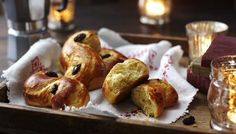These rich Lucia rolls are a traditional Swedish Christmas treat.