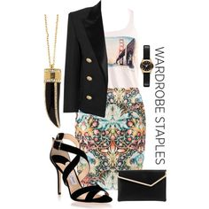 """""""Not So Casual Friday"""" by tsjgbrand on Polyvore"""