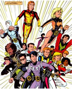 More great LEGIONNAIRES art from Chris Sprouse. Oh look-- there's Matter-Eater Lad!