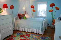 Flower Wall Art Bedroom