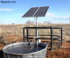 Visit us at solarpumps.com to learn about our solar powered water pumps. These pumps can be used for watering livestock, irrigation, ponds, creeks, cabins, and villages!
