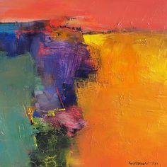Petite boîte à peinture 1156 - peinture à l'huile - 22,7 x 22,7 cm (environ 8,9 x 8,9 pouces)