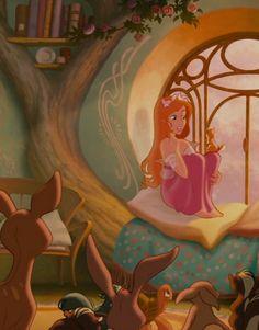 Giselle (Enchanted) (c) Walt Disney Animation Studios Disney Pixar Cars, Retro Disney, Vintage Disney, Disney Love, Enchanted Movie, Giselle Enchanted, Disney Enchanted, Disney Kunst, Arte Disney