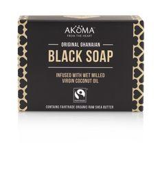 Akoma Ghanaian Black Soap