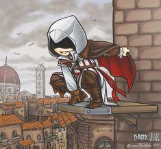 Ezio Auditore da Firenze by =ZombiDJ on deviantART