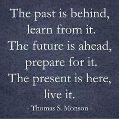 Past is behind