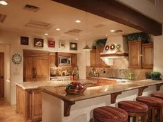 Rustic Santa Fe Mexican Kitchen For The Home Pinterest Mexican Kitchens Santa Fe And Fe