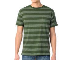 Matix MJ Dover Green Knit Tee Shirt