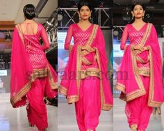 Pink Patiala Latest Salwar