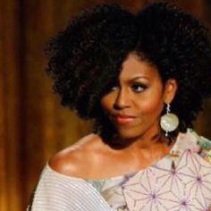 Michelle Obama natural