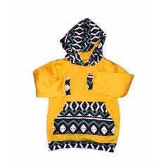 Classic sweatshirt hoodie babies/toddlers/girls by Allsnazziedup