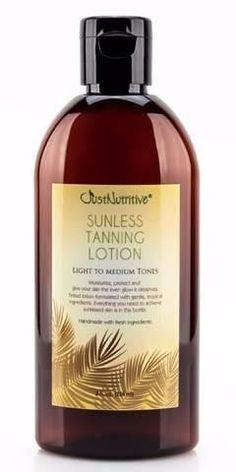 Sunless Tanning Lotion - Light to Medium tones