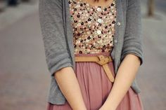 cute outfits with a skirt best outfits - Page 4 of 101 - What to Wear Ideas Look Boho, Look Chic, Look Fashion, Fashion Beauty, Womens Fashion, Jw Fashion, Floral Fashion, Office Fashion, Hijab Fashion