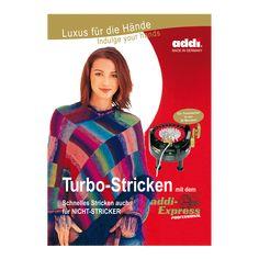 Anleitungsbuch Turbo-Stricken mit addiExpress