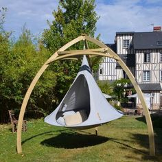 Cacoons Chair Swing Wood Metal Tripod Clamping Unique Retro Looking GARDEN SWING Hanging Bench Chair wooden frames for cacoon camping tents U.K Dealer of Cacoon Swinging glamping style tents Swing Chair For Bedroom, Hammock Chair Stand, Hanging Hammock Chair, Swinging Chair, Chair Swing, Tent Chair, Cacoon Hammock, Backyard Hammock, Outdoor Hammock