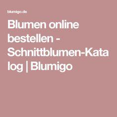 Blumen online bestellen - Schnittblumen-Katalog | Blumigo