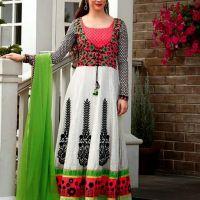 Zareen Indian Designer Cotton Dresses 2014 By Jinaam