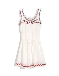 CliPick 的Pazzo 的民族風刺繡小花背心洋裝 http://www.clipick.com/item?sid=107119