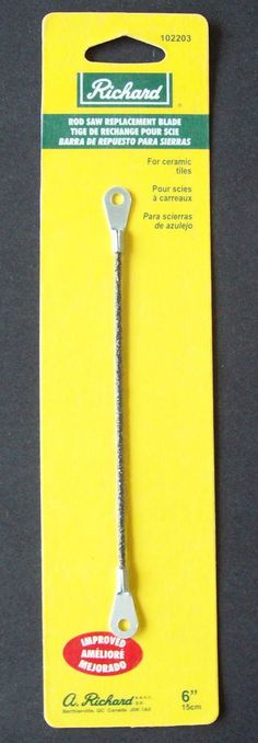 """Rod Saw Replacement Blade 6"""" inch or 15cm For Ceramic Tiles FREE SHIPPING #Richard"""