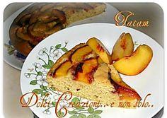Torta di Pesche senza uova e burro | ricetta per intolleranti