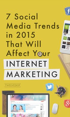 Let's find out how major players like Facebook and Twitter will be shifting the playing field once again in 2015.