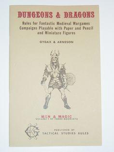 Dungeons & Dragons // Men & Magic // Gygax & Arneson (1974)