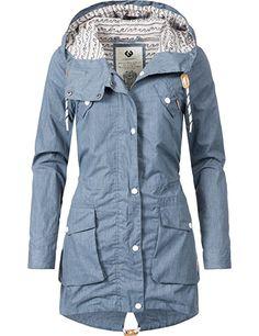Damen jacke navy blau