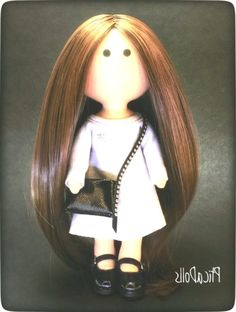 Fabric portrait doll Tilda waldorf cloth brunette doll Textile soft doll Miniature book Custom art doll Gift for daughter Personalized gift – Kids Hairstyle Cool Diy, Selfies, Doll Shop, Textiles, Doll Tutorial, Brunette Girl, Gifts For Teens, Teen Gifts, Soft Dolls