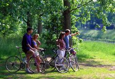 Going on Bike Rides with Family & Friends