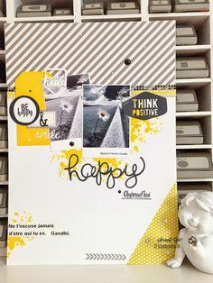 Le blog de Scrappy Géri: DT Scrapbooking A4 lift: Page pour Give Your Scrap Scrapbooking Day