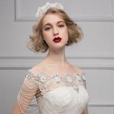 2015 Bridal Shoulder Necklace Diamond Chain Bridal Jewelry Crystal Wraps Wedding Bride Shoulder Chain Bridal Necklace Wedding Accessory