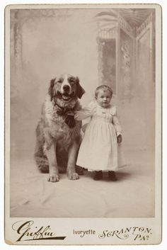 Charles L. Griffin, Scranton, PA. '[Toddler with dog]' c. 1892 | Art Blart Museum Exhibition, Art Museum, Fort Worth Museum, Modern Photography, Photography Exhibition, Modern History, Stencil Painting, Antique Photos, Conceptual Art