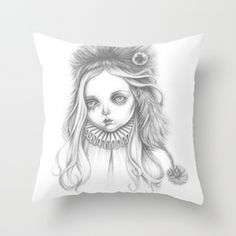 Shop sam crow 's store featuring unique designs on various products across art prints, tech accessories, apparels, and home decor goods. Throw Pillows, Female, Art, Art Background, Toss Pillows, Kunst, Decorative Pillows, Decor Pillows, Performing Arts