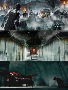 The Evil Within: The Assignment /Concept Art