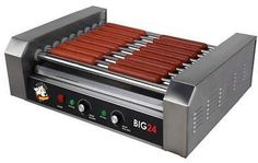 Stainless Steel Hot Dog Roller Grill with Drip Pan: Get it for $100.95 (was $164.79) #coupons #discounts