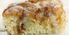 After making cinnamon roll cake, you won't want it any other way.