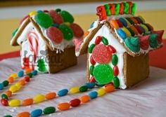 Сказочные имбирные домики