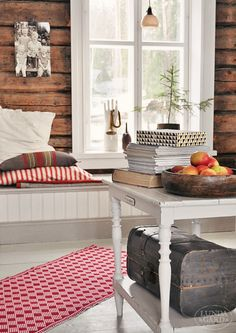 L U N D A G Å R D | inredning, familjeliv, byggnadsvård, lantliv, vintage, färg & form: Julmattan Loke