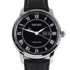 Chronograph-Divers.com - Seiko Analog Presage 24 Jewels Mens Black Leather Strap Classic Watch SRP765J SRP765, $202.00 (https://www.chronograph-divers.com/seiko-analog-presage-24-jewels-mens-black-leather-strap-classic-watch-srp765j-srp765/)