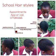 plain lines, cornrow school plaiting Cornrows Natural Hair, Plait, Hairstyles For School, Natural Hair Styles, School Hairstyles