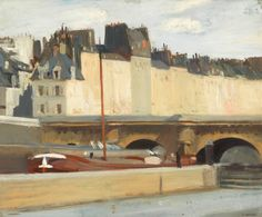The new bridge: Edward Hopper, Whitney Museum of American Art, New York Robert Rauschenberg, David Hockney, American Realism, American Artists, Manet, Paul Klee, Toulouse, Hooper Edward, Edward Hopper Paintings