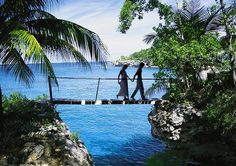 Jamaica.  (I have been to this EXACT spot.)  The picture does not do it justice.